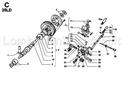 Immagine per la categoria C - ALBERO A CAMME/ REGOLATORE DI GIRI/ LEVE COMANDO REGOLATORE