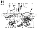 Immagine per la categoria H - CIRCUITO DI LUBRIFICAZIONE