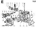 Picture of CRANKCASE/ GEAR COVER/ MOUNTS/ BREATHER