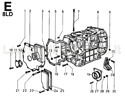 Picture of CRANKCASE/ GEAR COVER/ MOUNTS