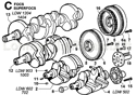 Picture of CRANKSHAFT/ FLYWHEEL