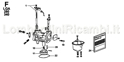 Picture for category CARBURETOR SPARE PARTS