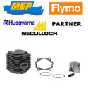 Picture for category Husqvarna Mc culloch Partner Flymo Mep cylinders and pistons