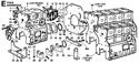 Picture of CRANKCASE/ FLYWHEEL SIDE CRANKSHAFT FLANGE/ MOUNTS