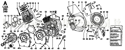 Picture of CRANKCASE/ CYLINDER HEAD/ GEAR COVER/ COOLING PANELS