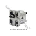 Picture of Pompa ad ingranaggi gruppo 2  80960Codice OEM 8281794 - VERSIONE STANDARD - ALBERO CONICO - 6,3 cm3, sinistra